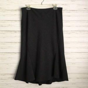 RAFAELLA gray skirt